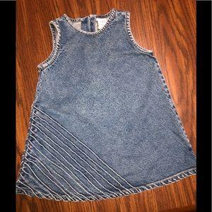 BABY GAP DENIM DRESS 12-18 MO -#0180-052019TR